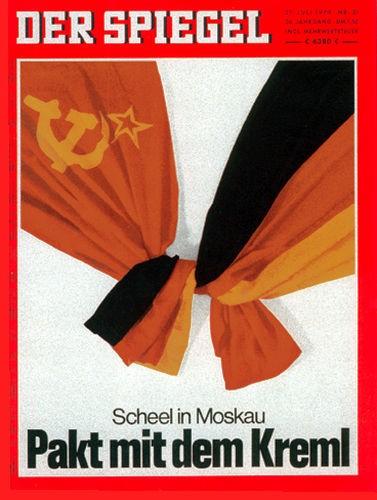 DER SPIEGEL Nr. 31, 27.7.1970 bis 2.8.1970
