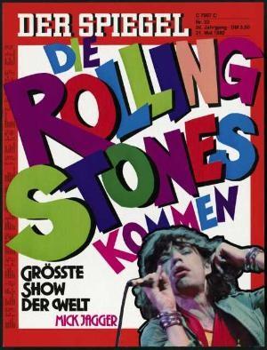 Die Rolling Stones kommen. Größte Show der Welt