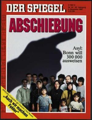 DER SPIEGEL Nr. 46, 9.11.1992 bis 15.11.1992