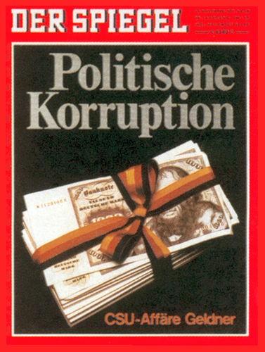 Original Zeitung DER SPIEGEL vom 23.11.1970 bis 29.11.1970