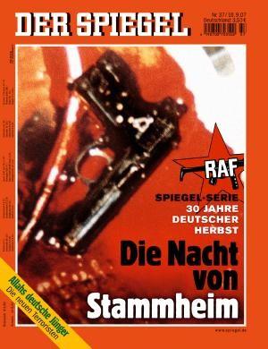 DER SPIEGEL Nr. 37, 10.9.2007 bis 16.9.2007