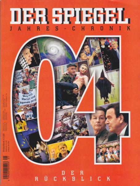 SPIEGEL Jahreschronik 2004