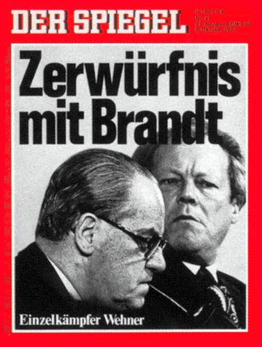 DER SPIEGEL Nr. 41, 8.10.1973 bis 14.10.1973