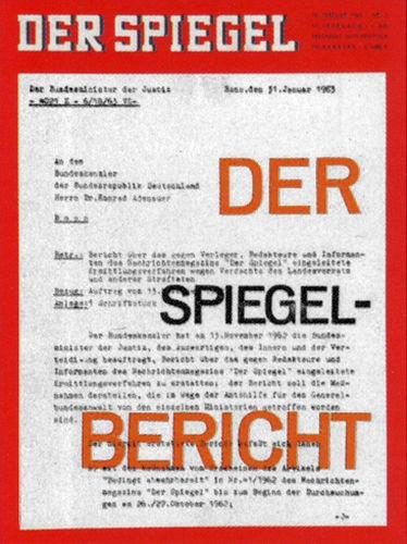 DER SPIEGEL Nr. 7, 13.2.1963 bis 19.2.1963