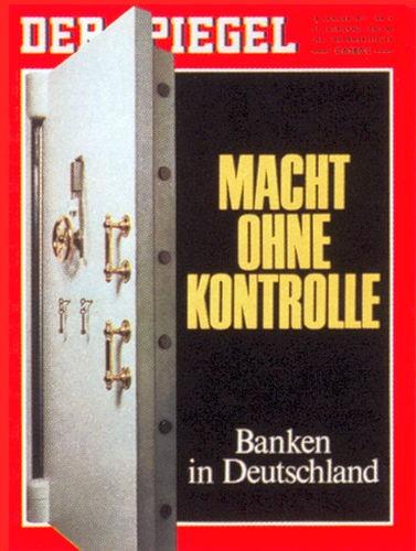 DER SPIEGEL Nr. 4, 18.1.1971 bis 24.1.1971