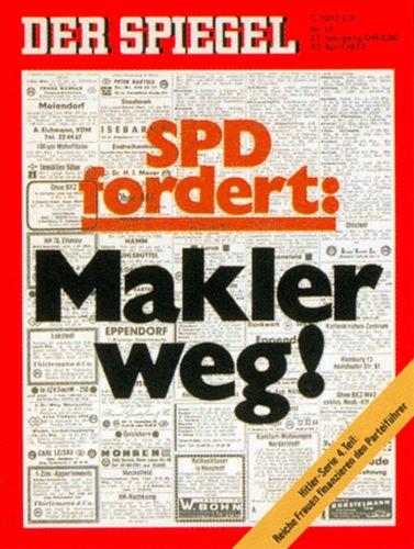 DER SPIEGEL Nr. 17, 23.4.1973 bis 29.4.1973