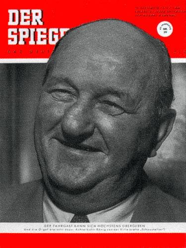 DER SPIEGEL Nr. 39, 23.9.1953 bis 29.9.1953