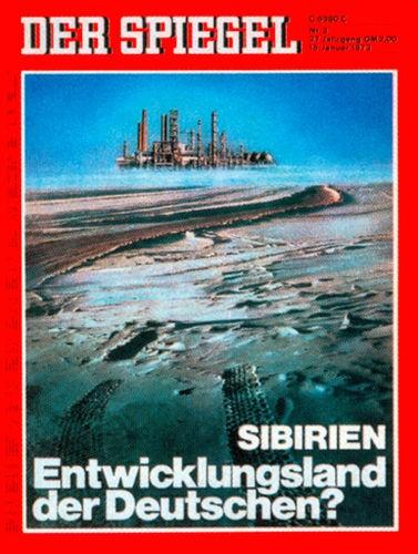 DER SPIEGEL Nr. 3, 15.1.1973 bis 21.1.1973