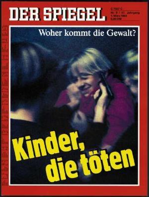 DER SPIEGEL Nr. 9, 1.3.1993 bis 7.3.1993
