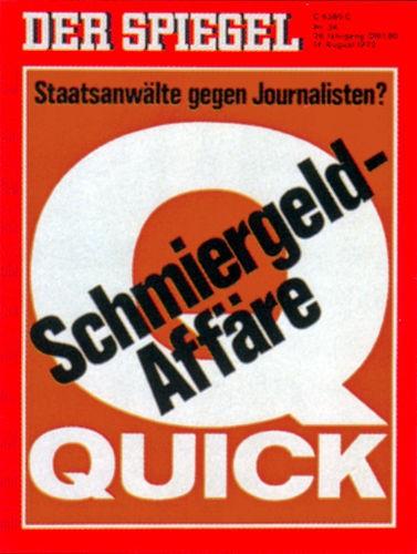 DER SPIEGEL Nr. 34, 14.8.1972 bis 20.8.1972