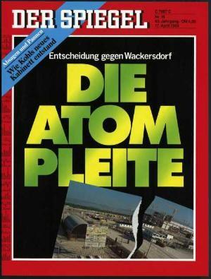 DER SPIEGEL Nr. 16, 17.4.1989 bis 23.4.1989