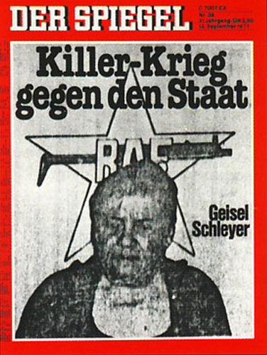 Spiegel Schleyer, Rote Armee Fraktion 1977, Geisel Schleyer