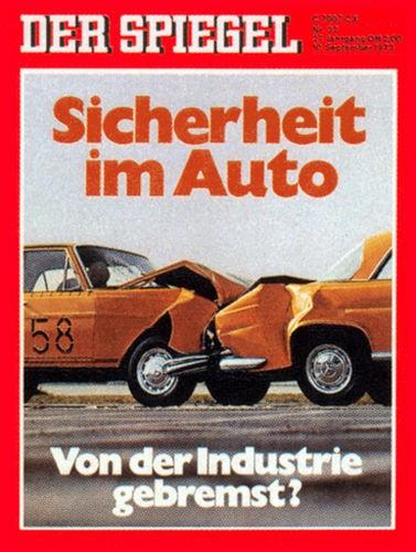Original Zeitung DER SPIEGEL vom 10.9.1973 bis 16.9.1973