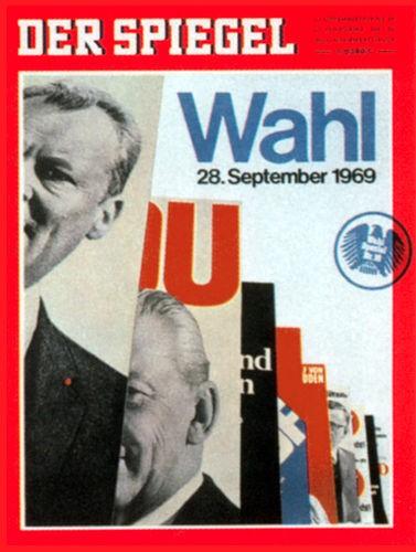 DER SPIEGEL Nr. 39, 22.9.1969 bis 28.9.1969