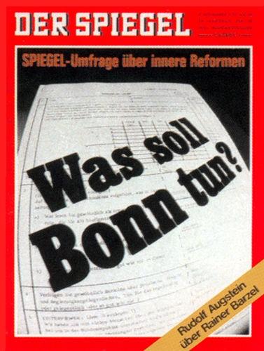 Original Zeitung DER SPIEGEL vom 9.11.1970 bis 15.11.1970