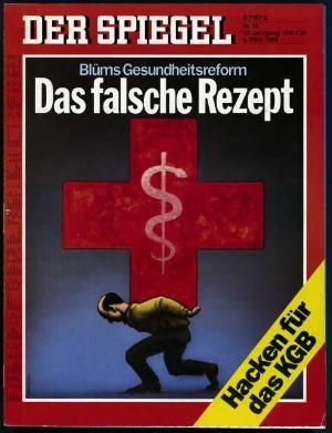 DER SPIEGEL Nr. 10, 6.3.1989 bis 12.3.1989