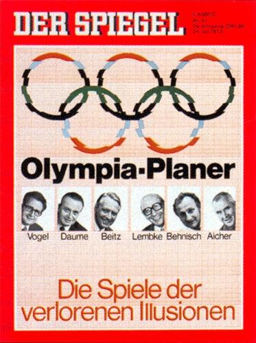 DER SPIEGEL Nr. 31, 24.7.1972 bis 30.7.1972