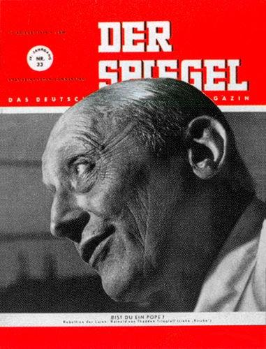 DER SPIEGEL Nr. 33, 17.8.1950 bis 23.8.1950
