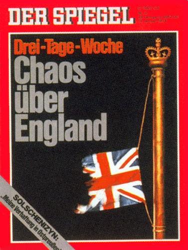 DER SPIEGEL Nr. 3, 14.1.1974 bis 20.1.1974