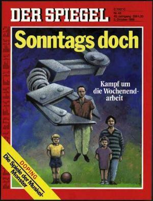 DER SPIEGEL Nr. 40, 3.10.1988 bis 9.10.1988