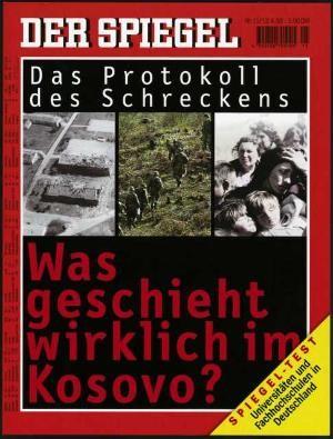 DER SPIEGEL Nr. 15, 12.4.1999 bis 18.4.1999