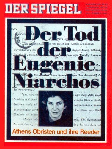 DER SPIEGEL Nr. 43, 19.10.1970 bis 25.10.1970