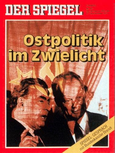 DER SPIEGEL Nr. 40, 27.9.1971 bis 3.10.1971