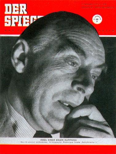 DER SPIEGEL Nr. 2, 9.1.1952 bis 15.1.1952