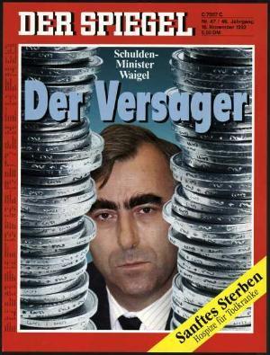 DER SPIEGEL Nr. 47, 16.11.1992 bis 22.11.1992