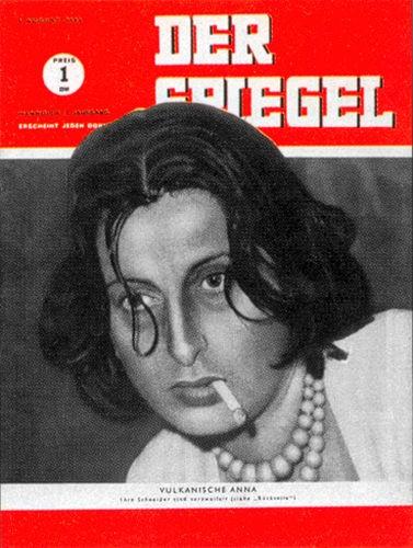 Zeitung DER SPIEGEL 4.8.1949 Anna Magnani