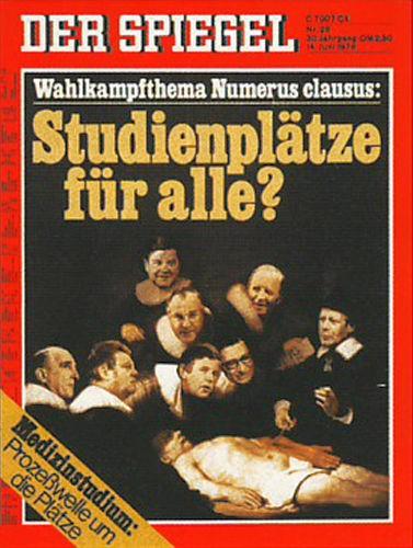 DER SPIEGEL Nr. 25, 14.6.1976 bis 20.6.1976