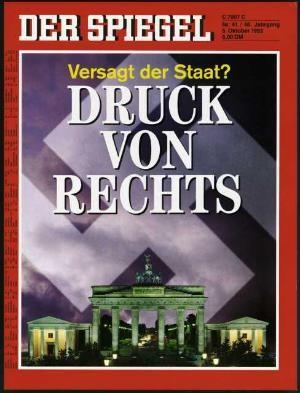 DER SPIEGEL Nr. 41, 5.10.1992 bis 11.10.1992