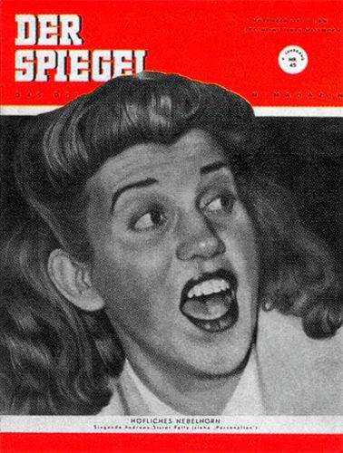 Original Zeitung DER SPIEGEL vom 7.11.1951 bis 13.11.1951