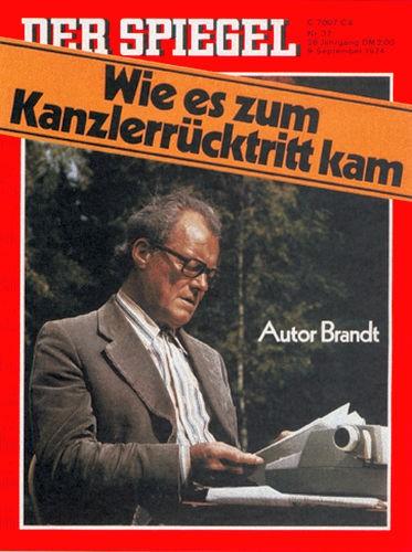DER SPIEGEL Nr. 37, 9.9.1974 bis 15.9.1974