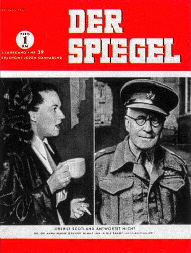 DER SPIEGEL Nr. 29, 19.7.1947 bis 25.7.1947