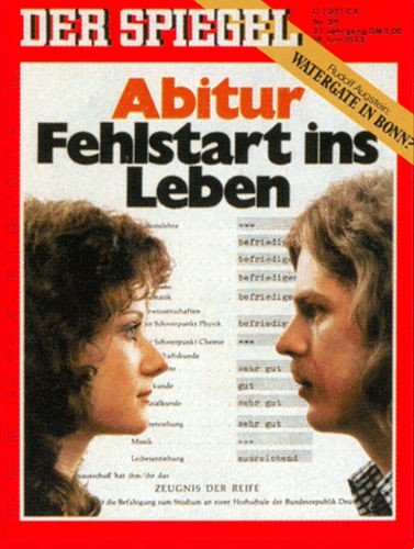 DER SPIEGEL Nr. 25, 18.6.1973 bis 24.6.1973
