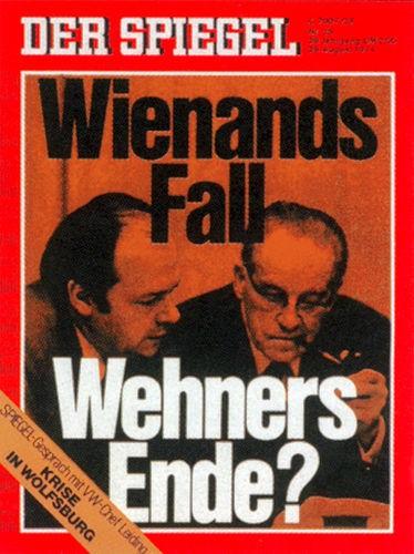 DER SPIEGEL Nr. 35, 26.8.1974 bis 1.9.1974