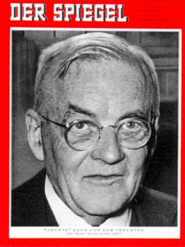 DER SPIEGEL Nr. 18, 29.4.1959 bis 5.5.1959