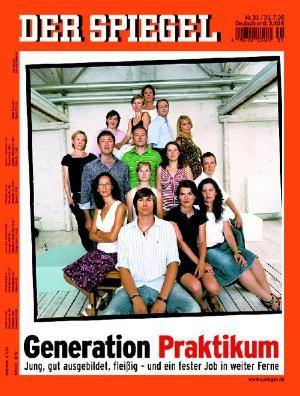 DER SPIEGEL Nr. 31, 28.7.2006 bis 3.8.2006