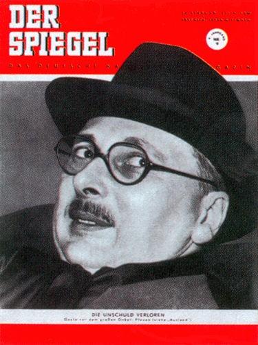 Onkel Pleven, Original Zeitung DER SPIEGEL vom 28.2.1951 bis 6.3.1951