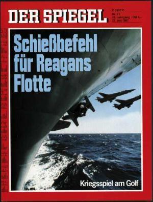 DER SPIEGEL Nr. 31, 27.7.1987 bis 2.8.1987
