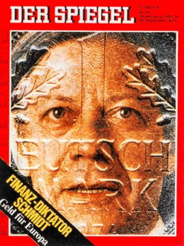DER SPIEGEL Nr. 40, 30.9.1974 bis 6.10.1974