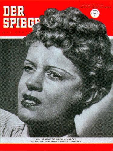Ethel Reschke, Geburtstag 2.1.1952, 3.1.1952, 4.1.1952, 5.1.1952, 6.1.1952, 7.1.1952, 8.1.1952