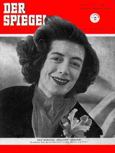 Original Zeitung DER SPIEGEL vom 4.4.1951 bis 10.4.1951