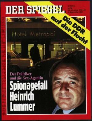 DER SPIEGEL Nr. 36, 4.9.1989 bis 10.9.1989