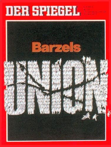 DER SPIEGEL Nr. 22, 22.5.1972 bis 28.5.1972