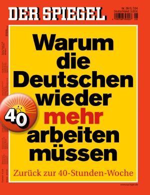 DER SPIEGEL Nr. 28, 5.7.2004 bis 11.7.2004