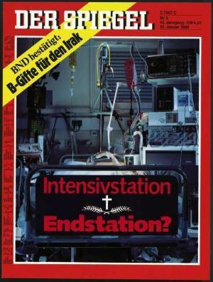 DER SPIEGEL Nr. 5, 30.1.1989 bis 5.2.1989