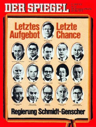 DER SPIEGEL Nr. 21, 20.5.1974 bis 26.5.1974