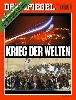 DER SPIEGEL Nr. 42, 15.10.2001 bis 21.10.2001
